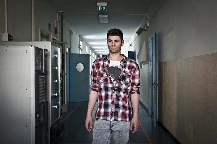 "Fotografia di Matteo Cattabriga ""Teenagers oggi"" 2012"