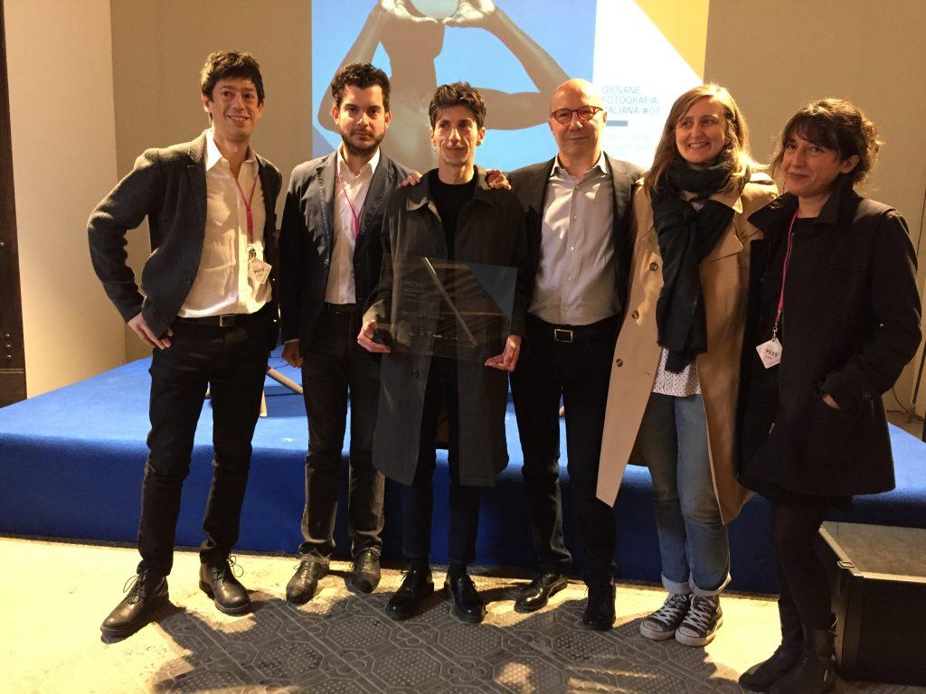 Iacopo Pasqui e la giuria del Premio Giovane Fotografia Italiana @ Chiostri di San Domenico, Reggio Emilia